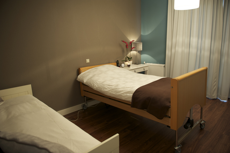 All-In Living, zorgappartement, hoog- laag bed